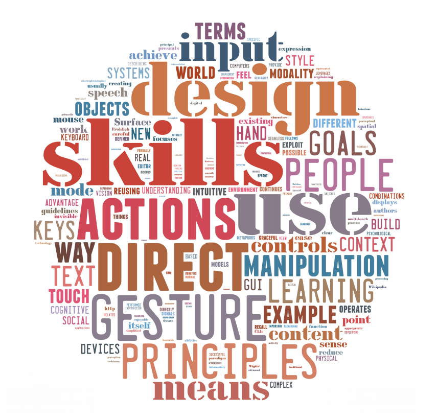 NUI - importance of reusing skills